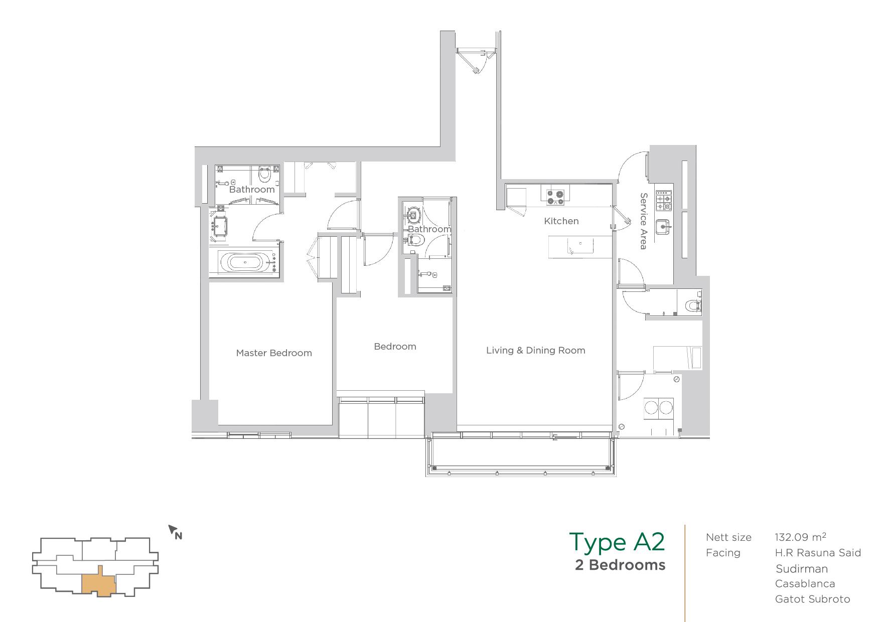 Terraverde layout type A2