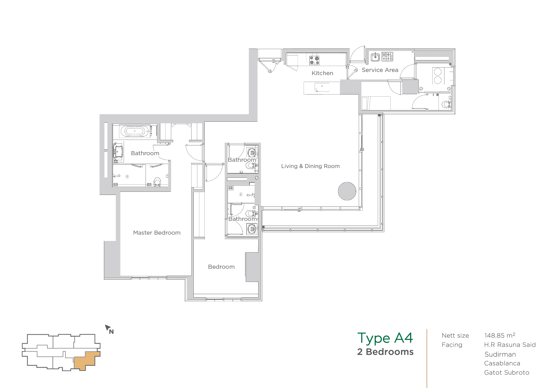 terraverde unit layout A4